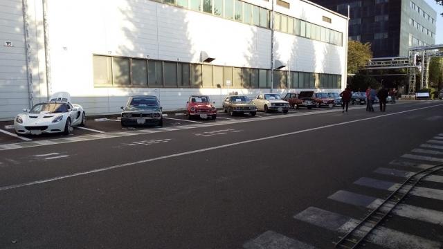 展示されていた自動車達