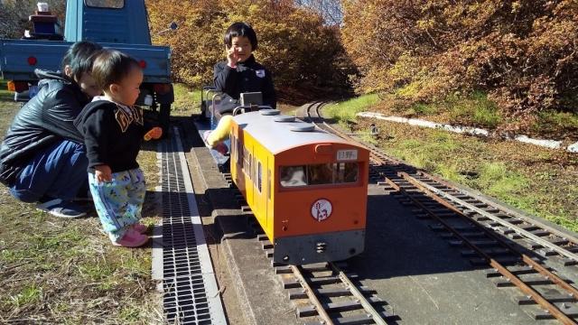 楽しいなぁ、ミニ鉄道遊び