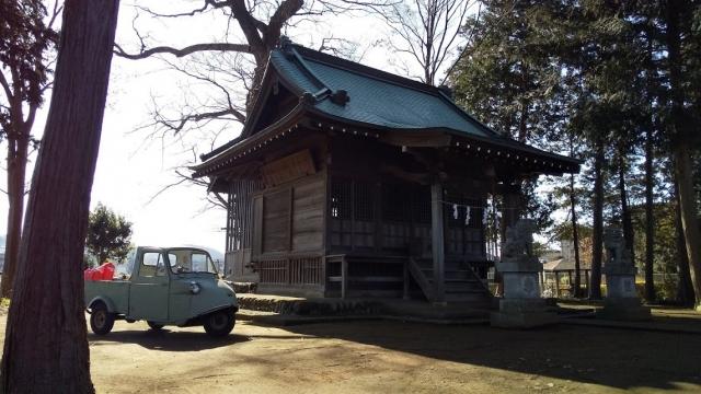 日枝神社とミゼット