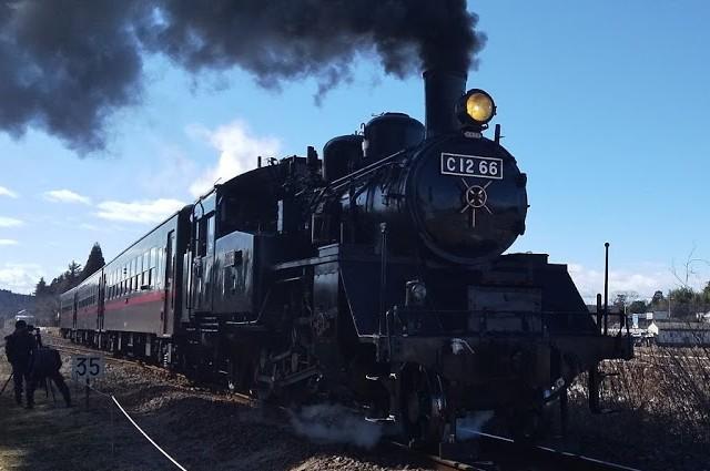 真岡鐵道のC12、いいですね。