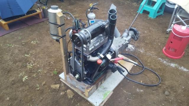 FIATのエンジン、戦前のマシンらしいですよ
