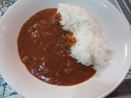 おかみちゃんの豆カレー6