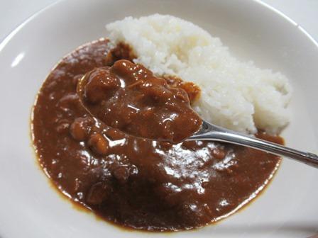 おかみちゃんの豆カレー7