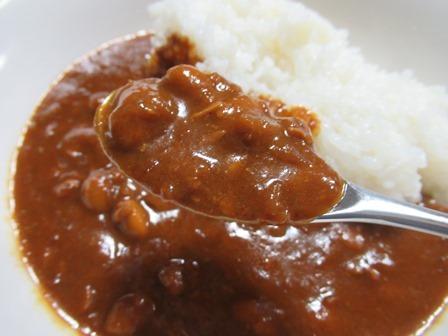 おかみちゃんの豆カレー9