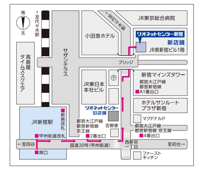 新店舗地図