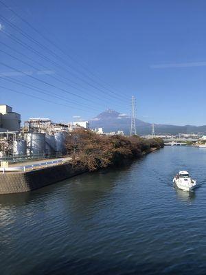 川上の富士