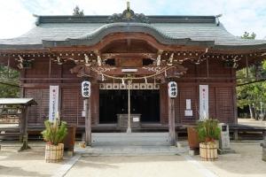 津田八幡宮1