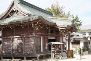 津田八幡宮2