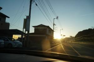 眩しい朝日21