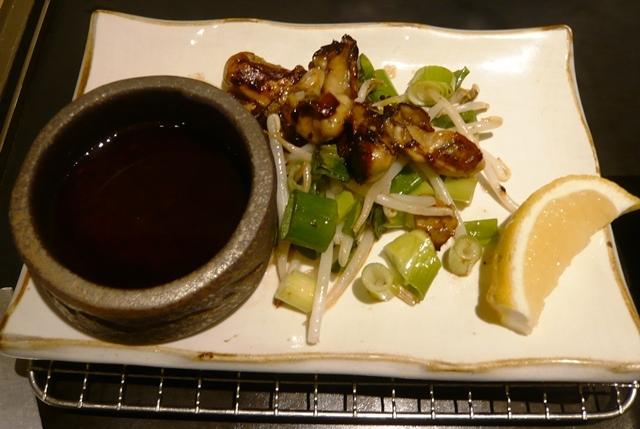 千房:牡蠣鉄板焼き1