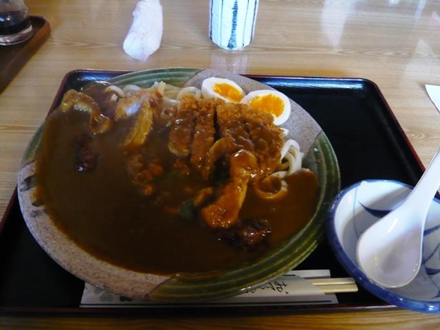 辰巳屋本店:カツカレーうどん1