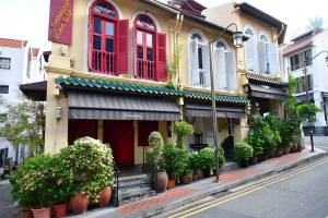Shophouses in Chinatown, Singapore