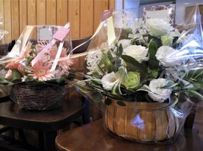20191015お祝いのお花