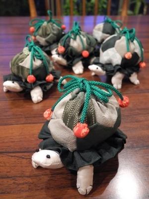 20191108吊るし飾り亀