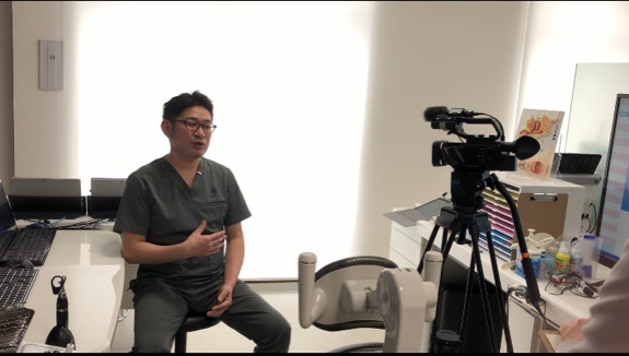 NHK取材‼️😄本日放送~~🎥