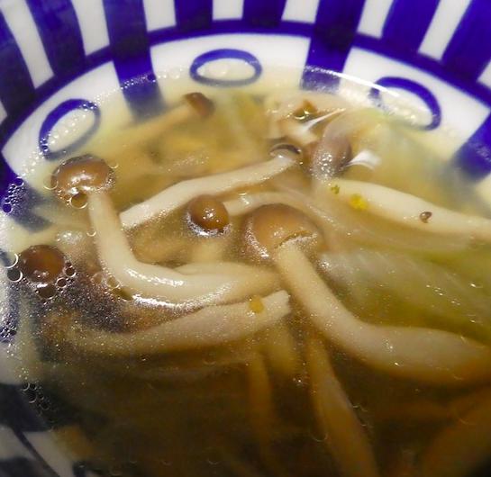 オニオン&しめじスープ