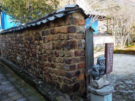 ②口屋番所6(2020-01-04)とんばい塀