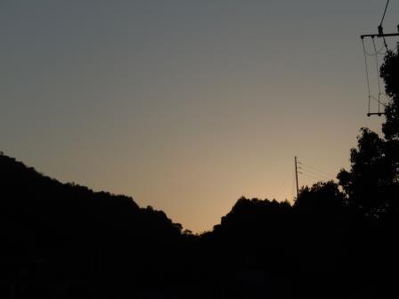 夕景1(2020-02-05)