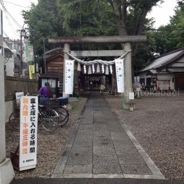 年に一度の富士登山_result