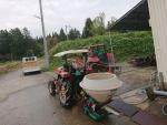 トラクター掃除