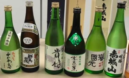上州地酒の例