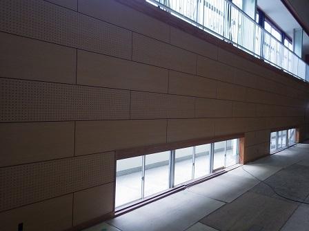 大和田体育館壁