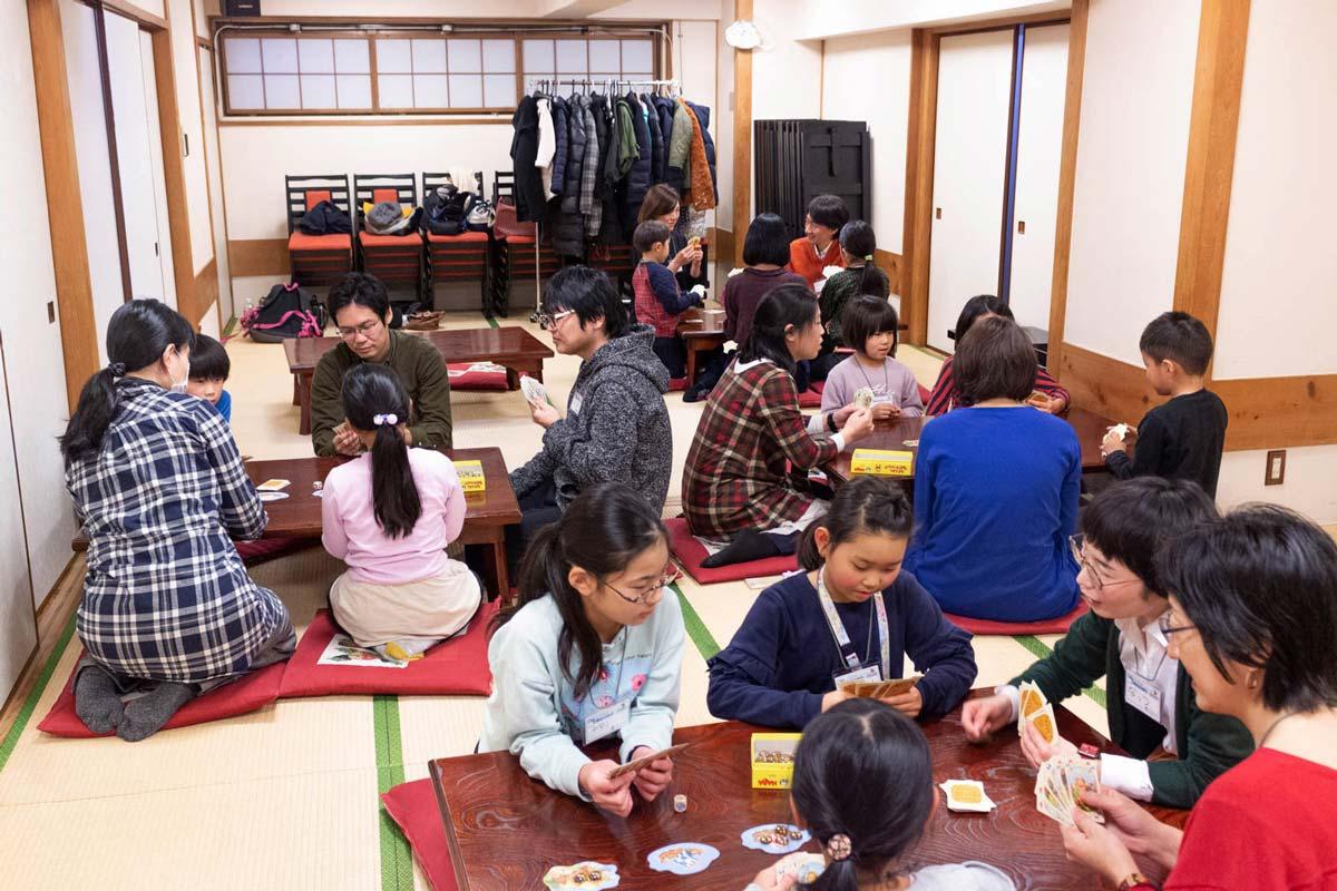 2020-02-02 親子でボードゲームとお寿司:ワイルドバイキング遊戯中