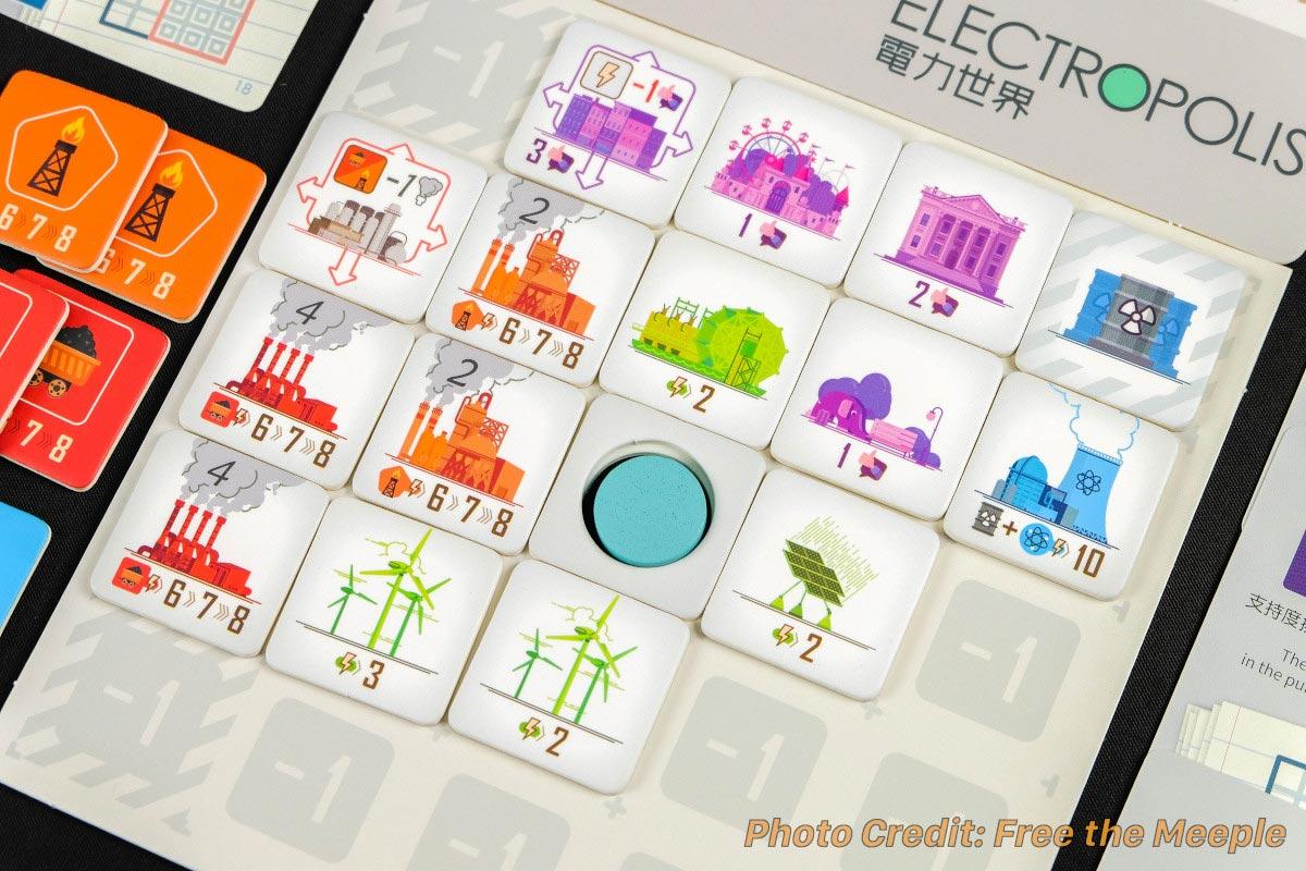 電力世界:プレイヤーボード