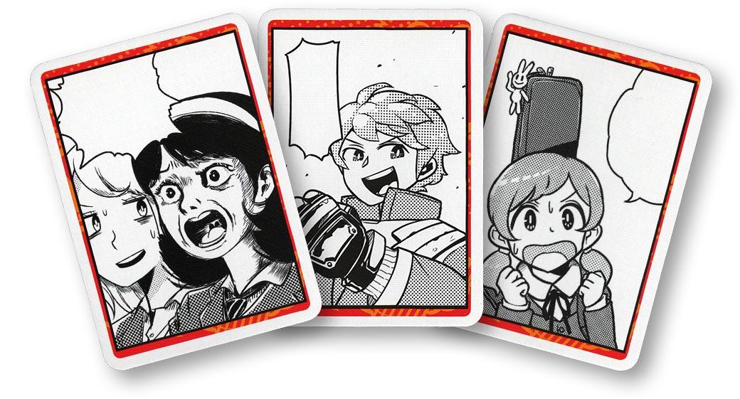 ヒットマンガ(2020年版):カード3枚