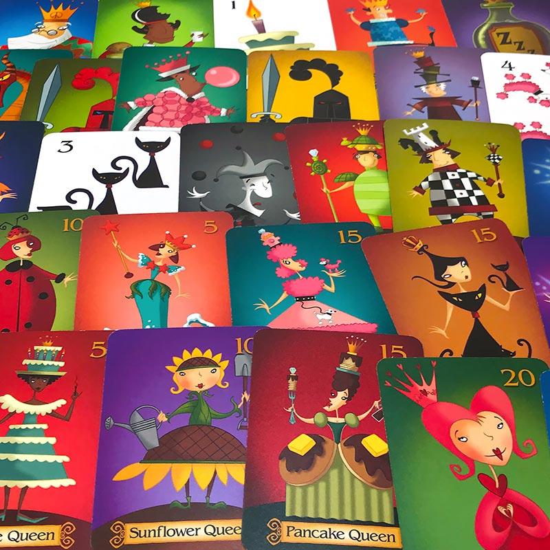 眠りの女王たち:イラストカード