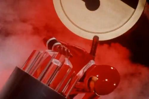 戦隊ヒーロー、カクレンジャーのニンジャレッド・サスケのマスクオフ