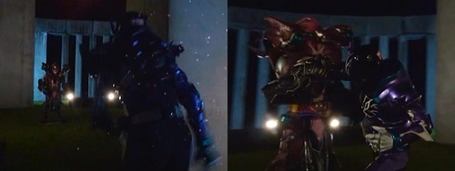 仮面ライダーローグが最後の戦いに挑むもやられて苦戦する