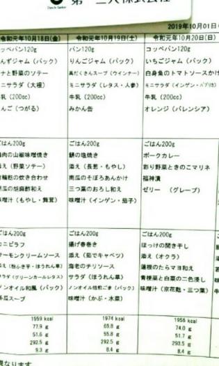 2019.10.20(日)(朝)6