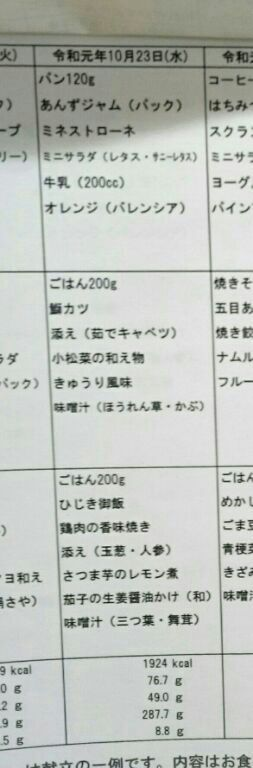 2019.10.23(水)(朝)6