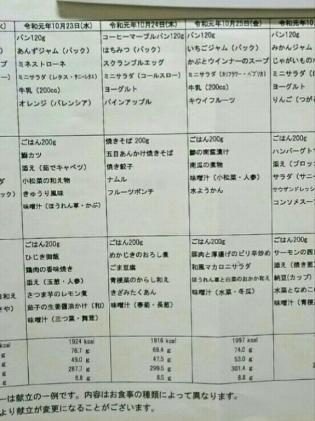 2019.10.23(水)(夕)5