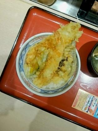 20191226てん松サービス天丼3