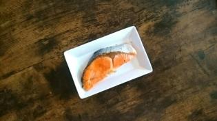20200106海老フライ、無塩焼き鮭ほか