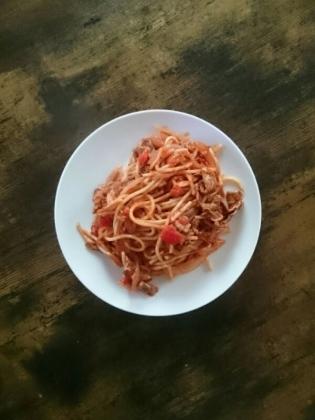 20200123トマトスパゲッティー