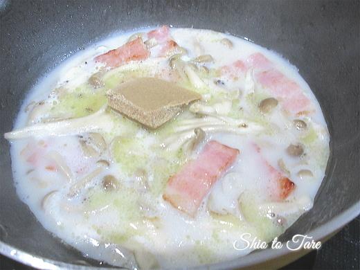 IMG_0849_20200216_01_贅沢きのこバターでスパゲッティを作ってみたよ