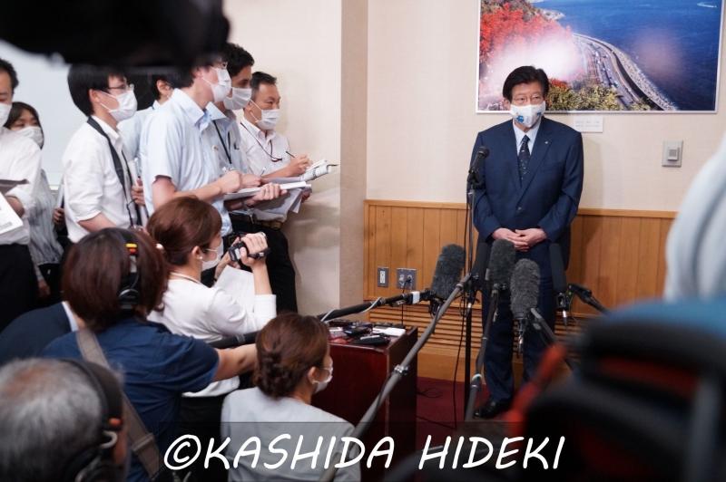 200626川勝平太静岡県知事