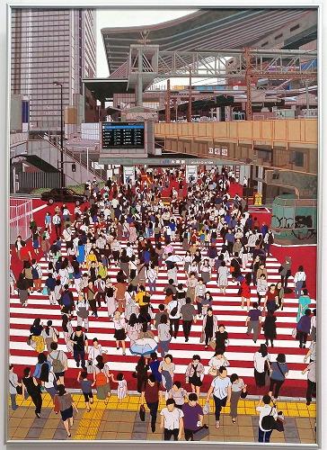 日展洋画 大阪駅