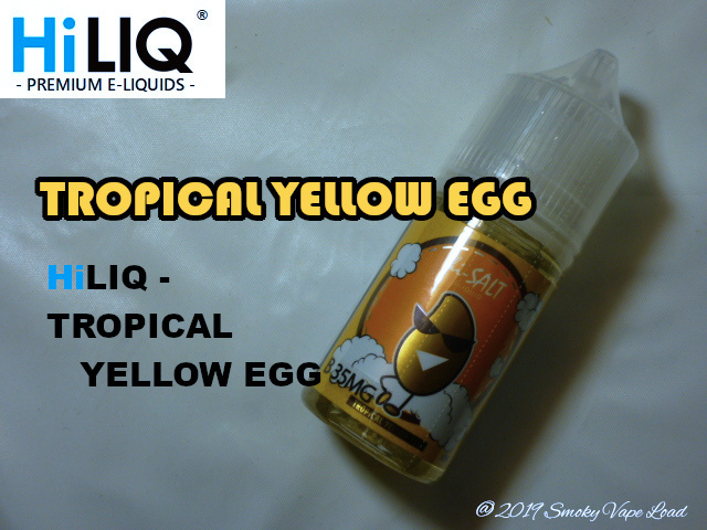 1 TROPICAL YELLOW EGG