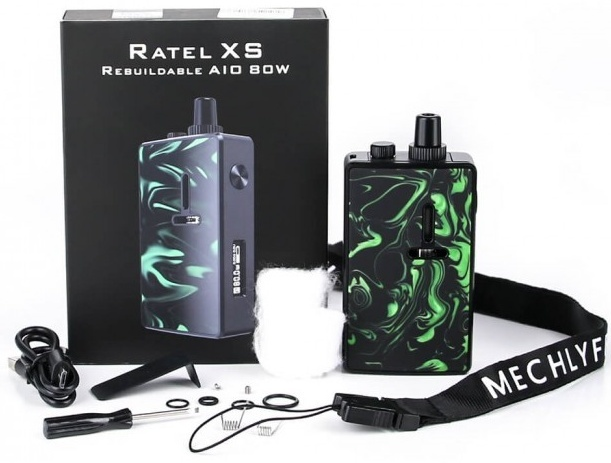 1 Mechlyfe Ratel XS AIO 80W TC Pod Mod Kit