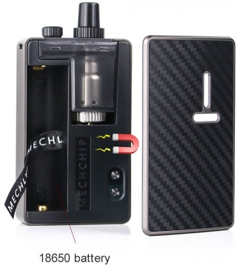 2 Mechlyfe Ratel XS AIO 80W TC Pod Mod Kit