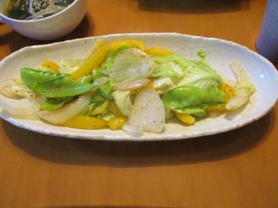 200526野菜炒め