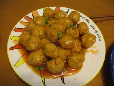 200606肉団子の甘酢あんかけ