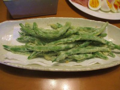 200612インゲンの天ぷら
