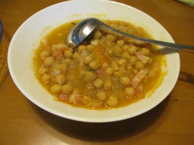 200614ひよこ豆の煮込み