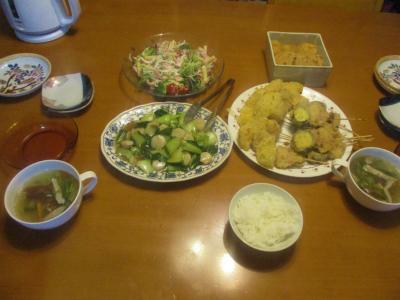200619夕食