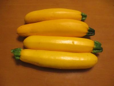 200626収穫したズッキーニ